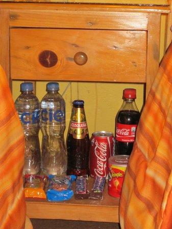 Suites Antonio´s: 'mini bar' in the room