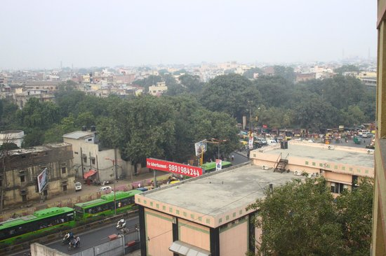 Ginger New Delhi: View from the hotel room