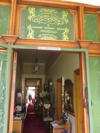 Kingna Lodge: Arriving at Kingna