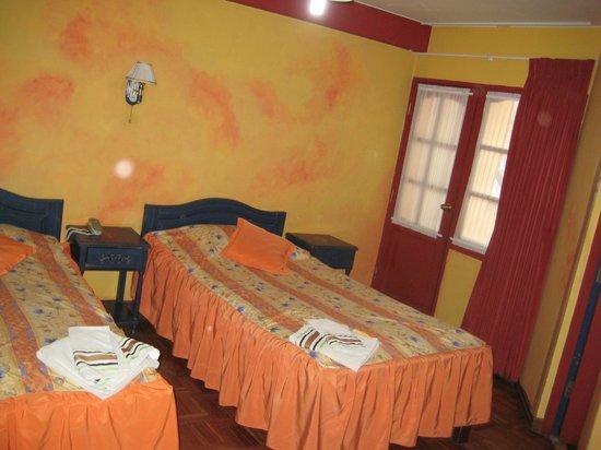 Cruz de los Andes: Our room