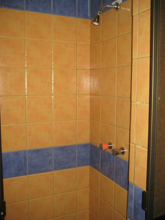 Cruz de los Andes: Our shower