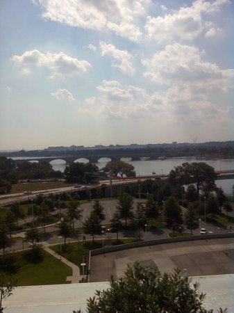 John F. Kennedy Center for the Performing Arts: Looking Out from the Kennedy Center