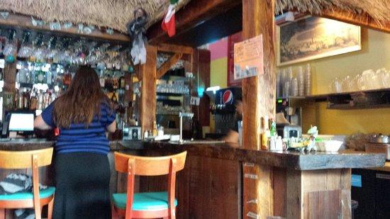 El Burro Loco: The bar....