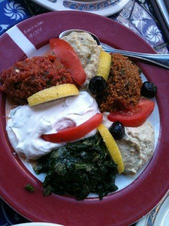 Beyoglu : mezze platter
