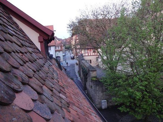 Gäestehaus am Klosterhof : Vista desde la habitación.