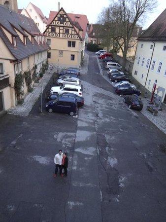 Gäestehaus am Klosterhof : Vista desde la habitación