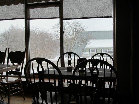Bonnie Lous Cafe: Nice view