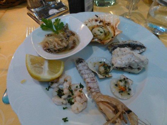 Trattoria Da Ignazio: Mixed seafood starter