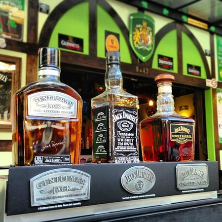 Jack Daniels Selection - Picture of Patrick\'s Irish Sports Pub ...