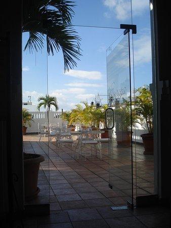Antiguo Hotel Europa: Terrace