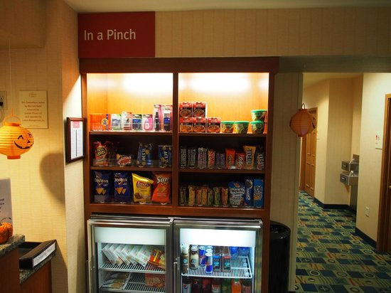 TownePlace Suites Manchester-Boston Regional Airport : In a Pinch Snacks for Sale