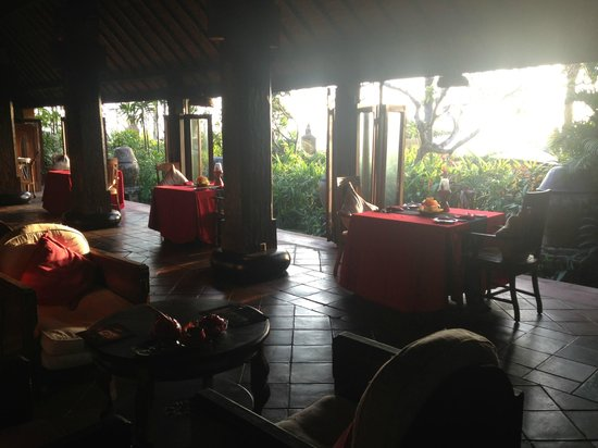 Hotel Tugu Bali : Eating Area