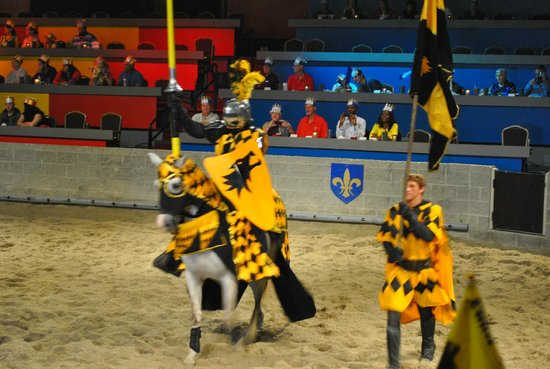 Medieval Times : The Yellow Knight