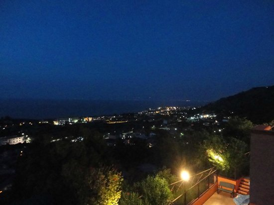 Orizzonte Blu di Tropea Hotel: a night view from our balcony