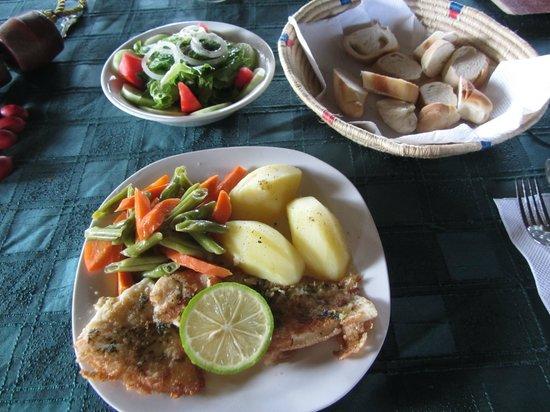 Posada La Casita: prato