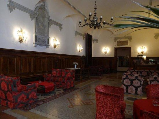 Hotel Abbazia: lounge