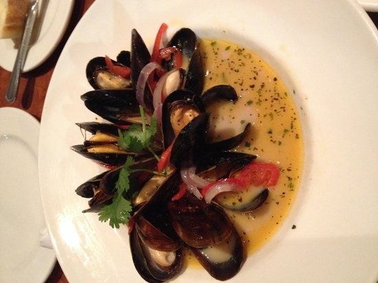The American Grille : Mussels