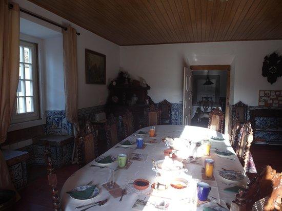 Quinta do Scoto: The dining room