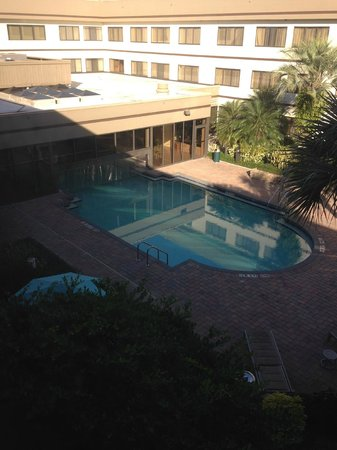 ‪‪Sheraton Suites Orlando Airport‬: View of indoor/outdoor pool‬