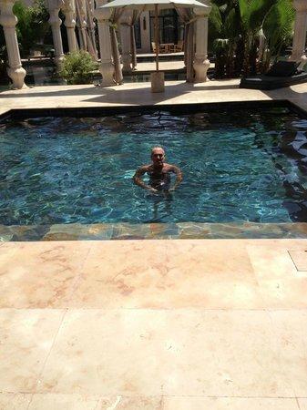 Palais Namaskar: Our private pool