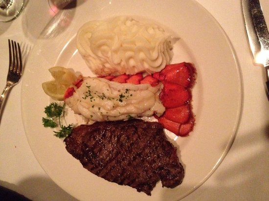 Hy's Steakhouse Whistler: Lobster&Steak