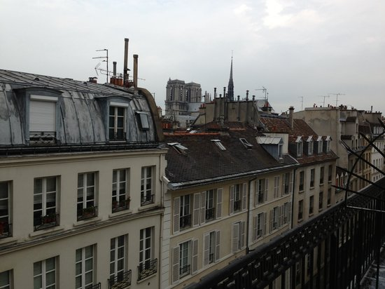view from our room hotel abbatial st germain picture of hotel abbatial saint germain paris. Black Bedroom Furniture Sets. Home Design Ideas