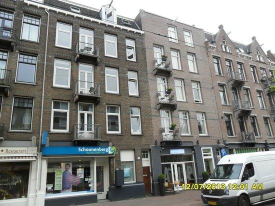 Alp Hotel Amsterdam: Frente del Hotel