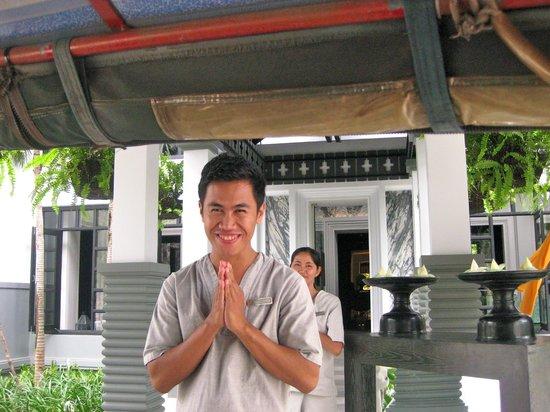 Shinta Mani Club: Friendly staff, always smiling