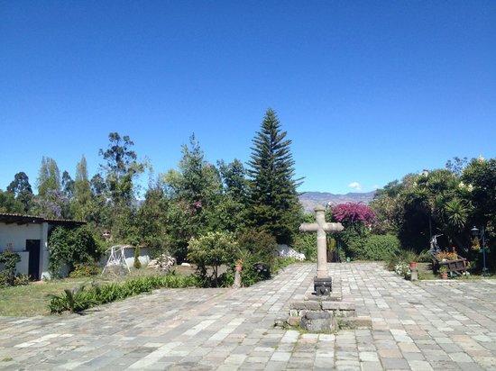 HACIENDA LA CARRIONA: view from reception