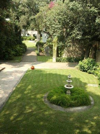 Hotel Hacienda Cocoyoc: vista desde la habitación