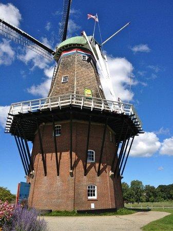 Windmill Island Gardens: genuine 18th century windmill from the Netherlands