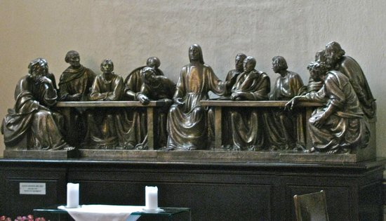 Oslo Cathedral (Oslo Domkirke): Last supper