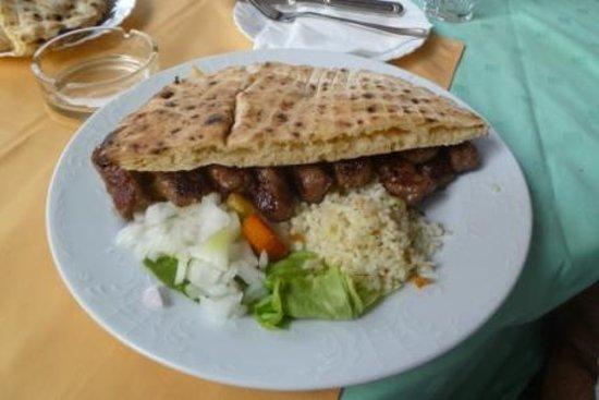 Restaurant Kulluk: Meat, traditional dish