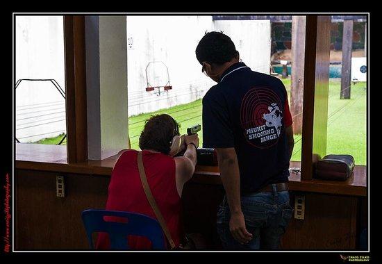Phuket Shooting Range: One on one tuition