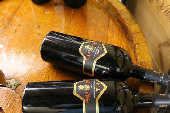 Villa Sant'Anna: Poldo: the pride of the winery.  Delicious