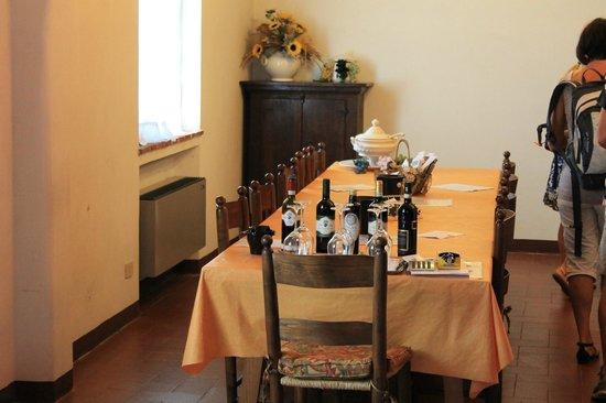 Villa Sant'Anna: tasting part two