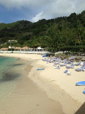 Grand Case Beach Club: One of two beaches