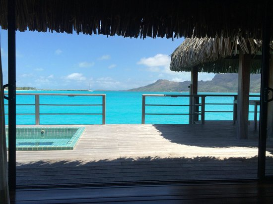 The St. Regis Bora Bora Resort : what a view from our room