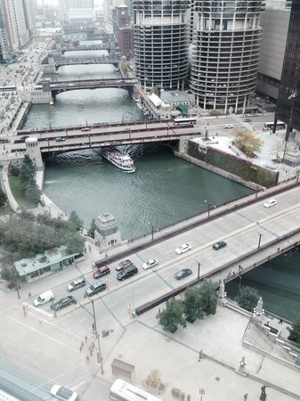 Wyndham Grand Chicago Riverfront: Best view