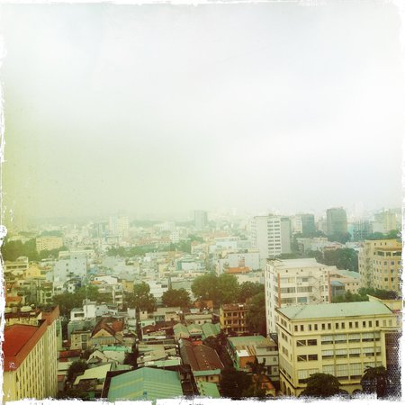Sofitel Saigon Plaza: View from pool on roof