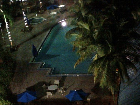 DoubleTree by Hilton Hotel Deerfield Beach - Boca Raton: Pool from up on my rooftop patio