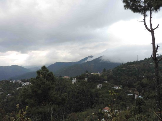 Soulitude in the Himalayas: View from the deck