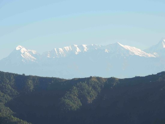 Soulitude in the Himalayas: Morning View from the room