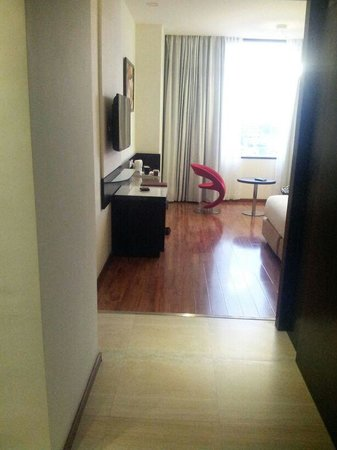 E Hotel: Room view 1