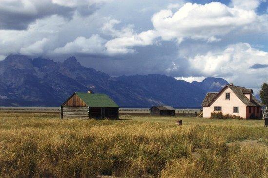 Antelope Flats: John Moulton  farm.... worth a side trip to Anelope Flats