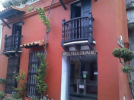 Hotel Villa Colonial : Una hermosa Fachada