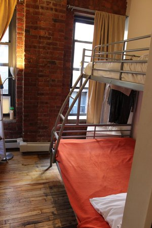 The New York Loft Hostel : Private room