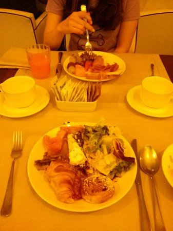 Hotel Pulitzer Roma : Good breakfast