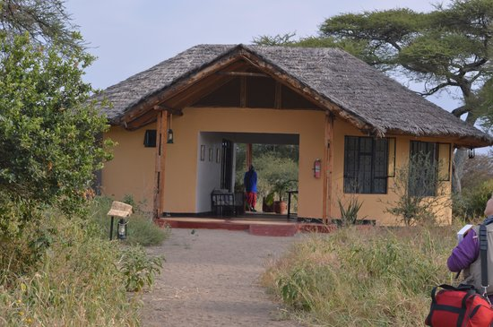 Welcoming area to Kirurumu Tarangire Lodge