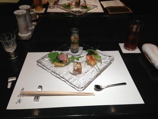 Sanyoan: 夕食